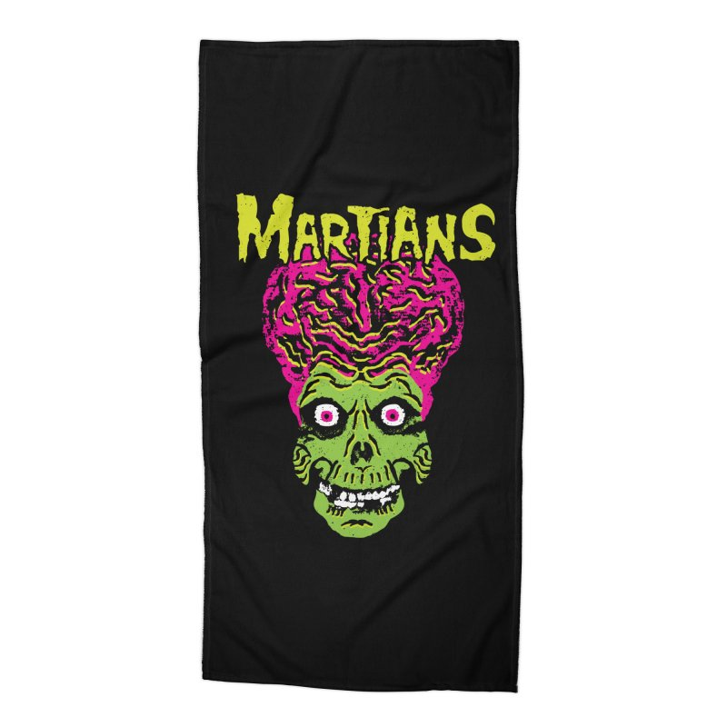 Martians Accessories Beach Towel by Daletheskater