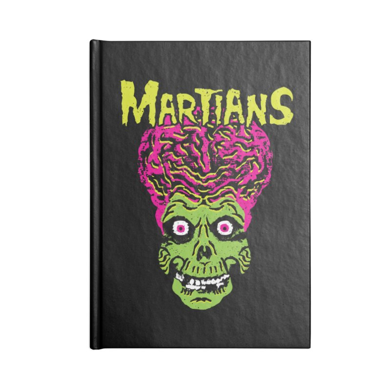 Martians Accessories Notebook by Daletheskater