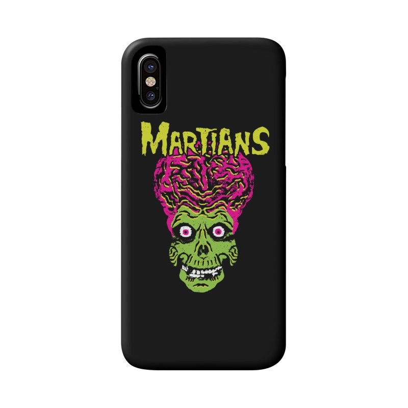 Martians Accessories Phone Case by Daletheskater