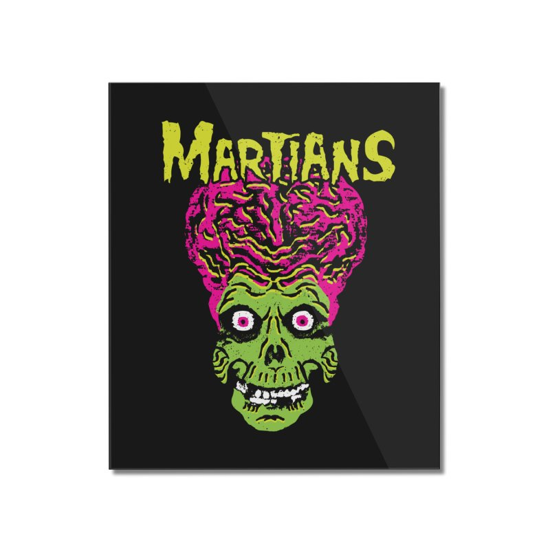 Martians Home Mounted Acrylic Print by Daletheskater