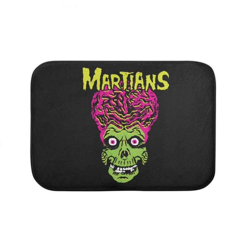Martians Home Bath Mat by Daletheskater