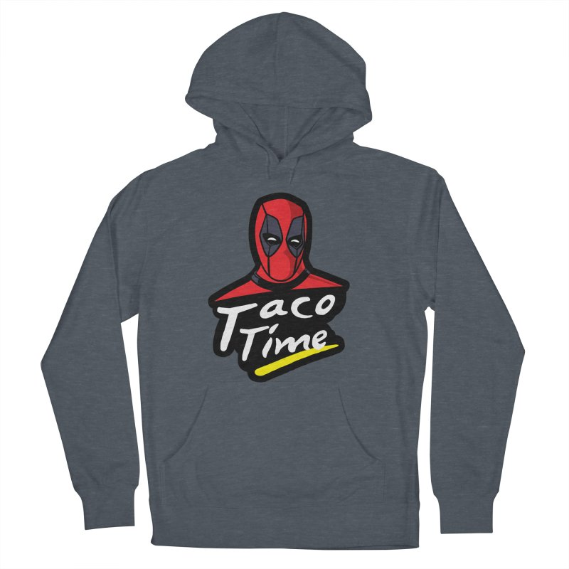 Taco Time Men's Pullover Hoody by Daletheskater