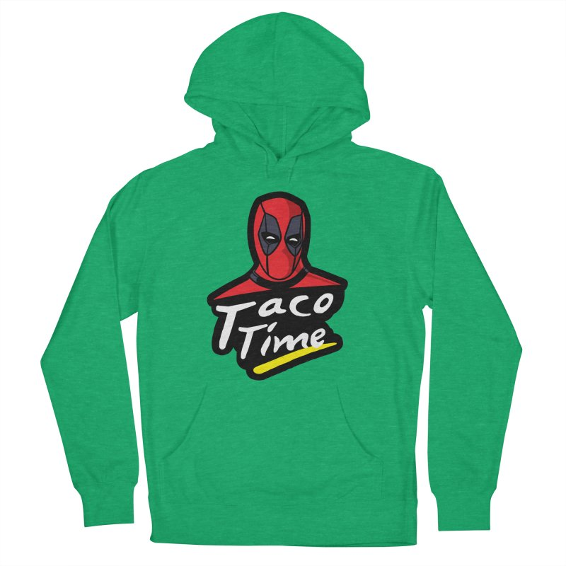 Taco Time Men's French Terry Pullover Hoody by Daletheskater