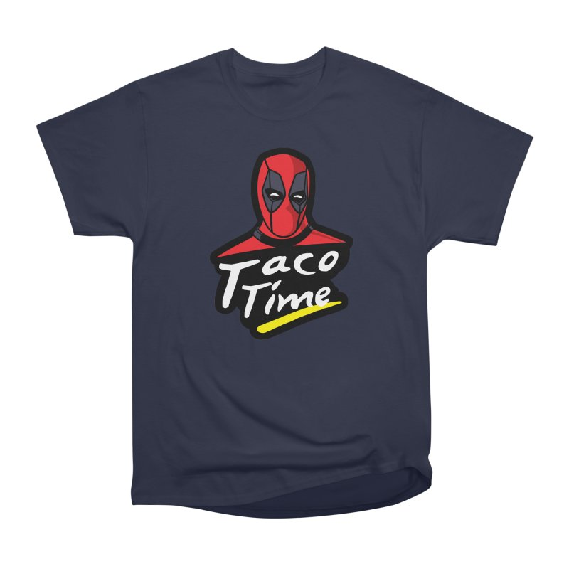 Taco Time Men's Heavyweight T-Shirt by Daletheskater