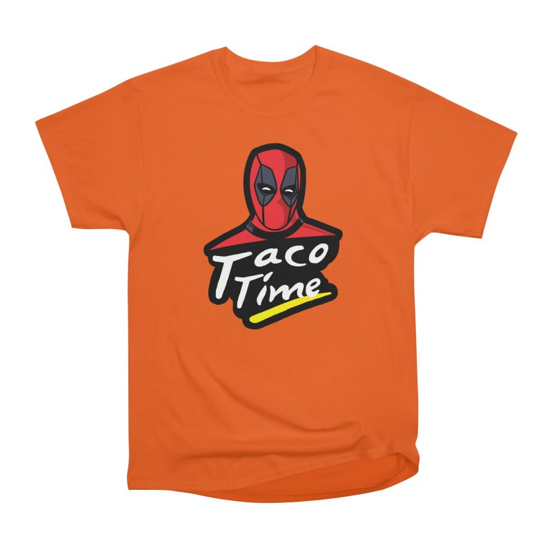 Taco Time Women's Heavyweight Unisex T-Shirt by Daletheskater