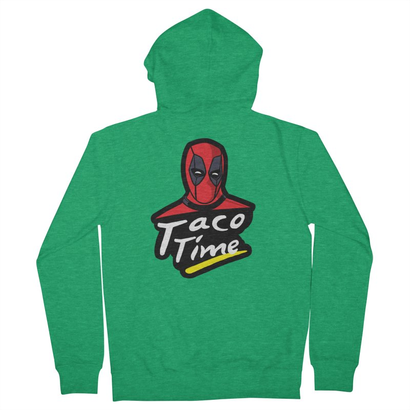 Taco Time Women's French Terry Zip-Up Hoody by Daletheskater