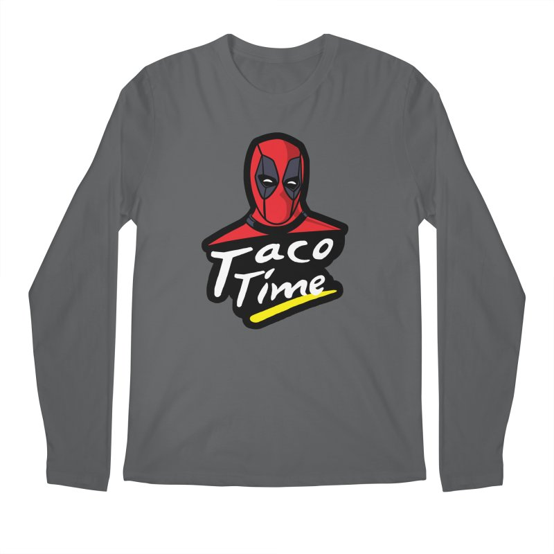 Taco Time Men's Longsleeve T-Shirt by Daletheskater