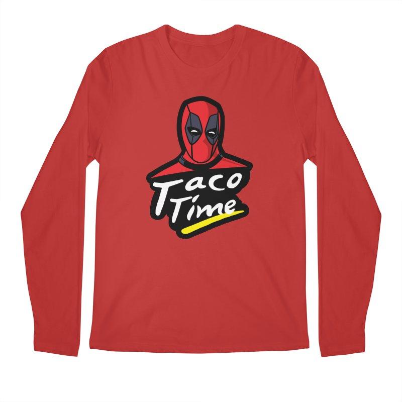 Taco Time Men's Regular Longsleeve T-Shirt by Daletheskater