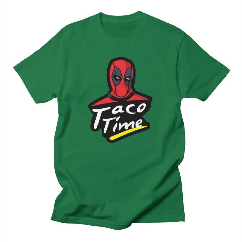 Taco Time Women's Unisex T-Shirt by Daletheskater