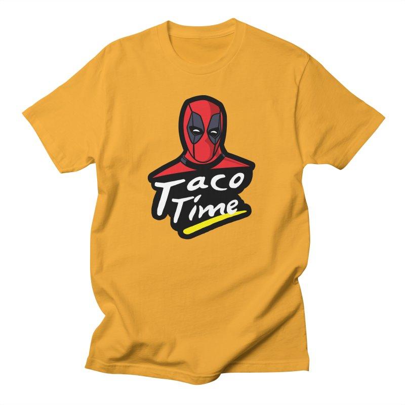 Taco Time Women's Regular Unisex T-Shirt by Daletheskater