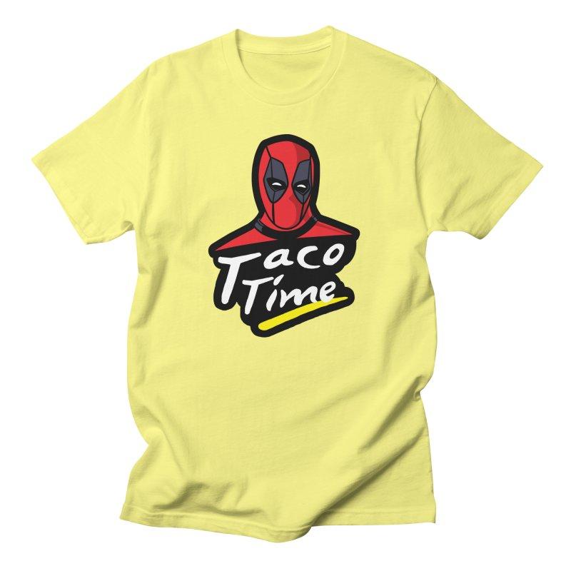 Taco Time Men's T-Shirt by Daletheskater