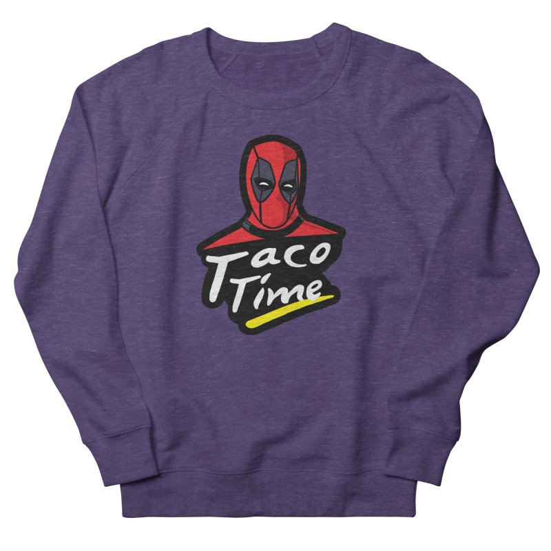 Taco Time Women's French Terry Sweatshirt by Daletheskater
