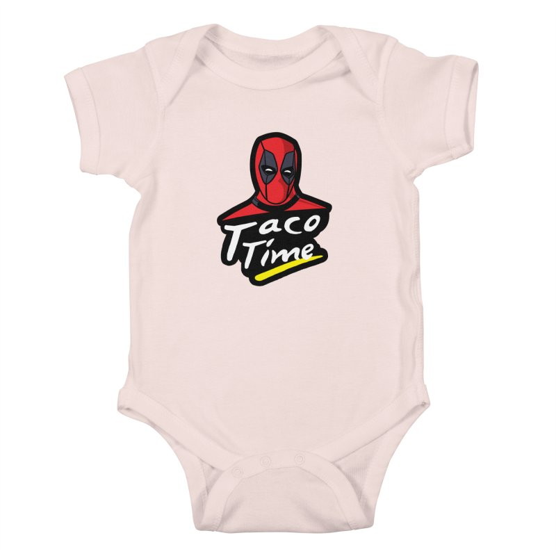 Taco Time Kids Baby Bodysuit by Daletheskater