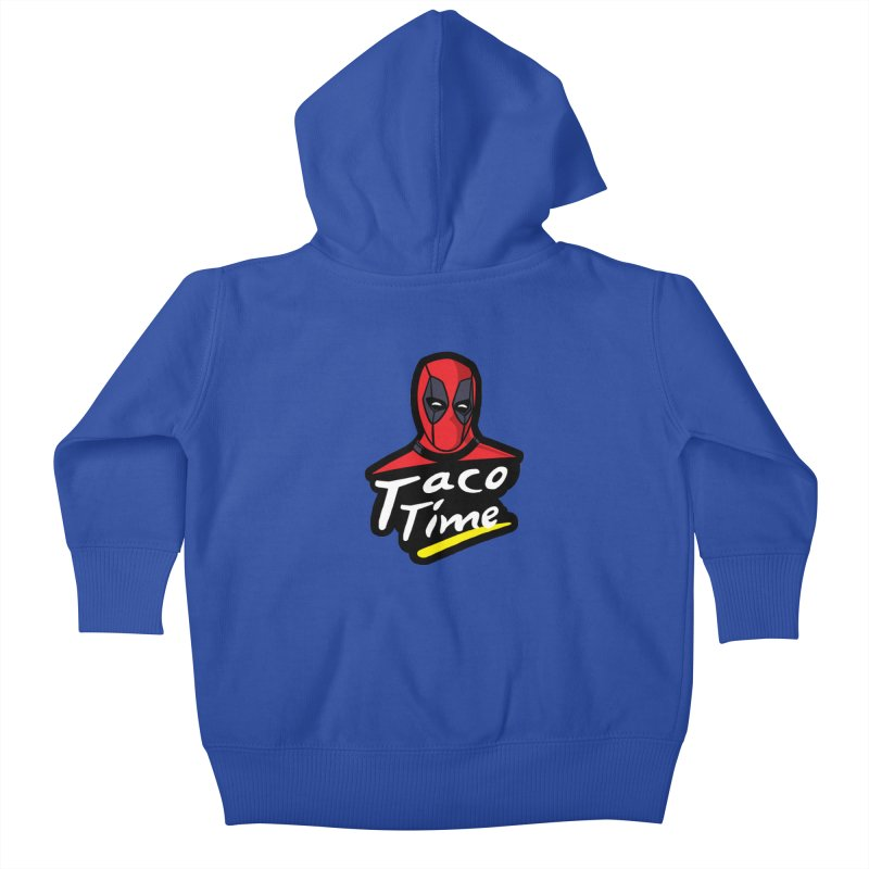Taco Time Kids Baby Zip-Up Hoody by Daletheskater