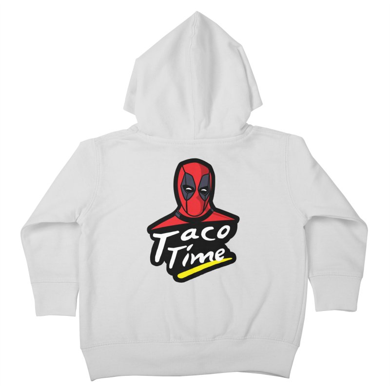Taco Time Kids Toddler Zip-Up Hoody by Daletheskater