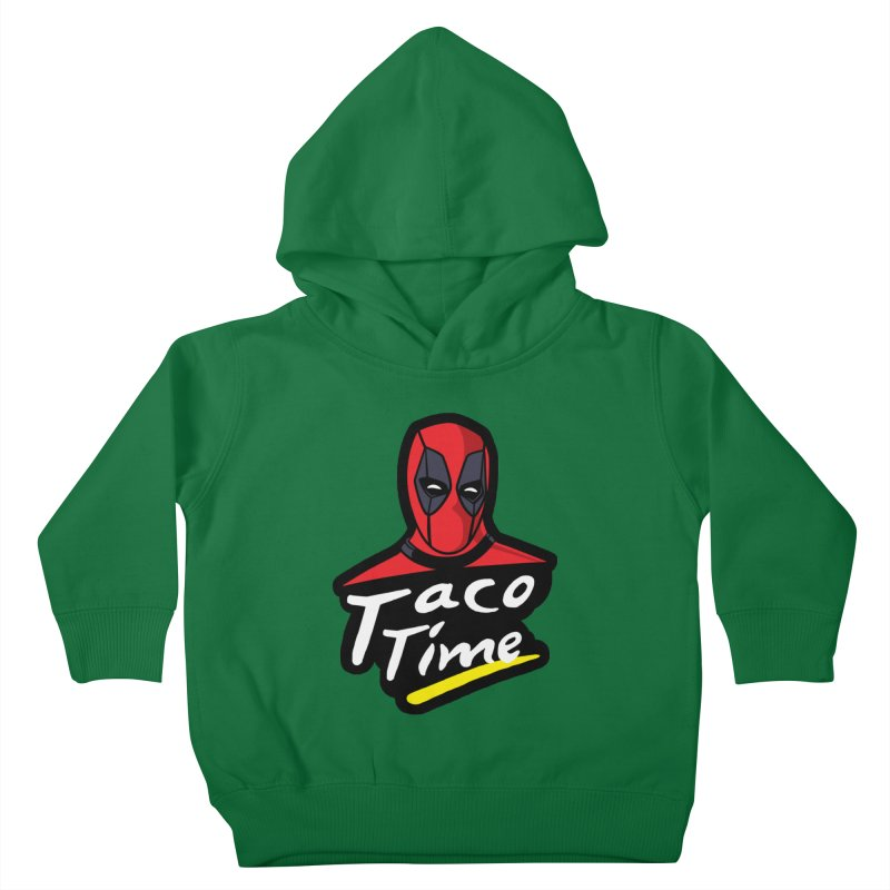 Taco Time Kids Toddler Pullover Hoody by Daletheskater