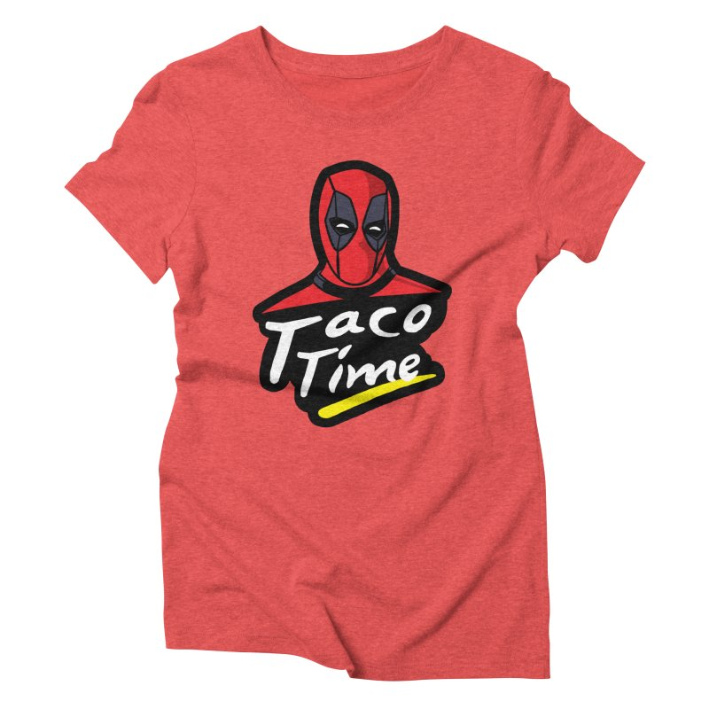 Taco Time Women's Triblend T-Shirt by Daletheskater