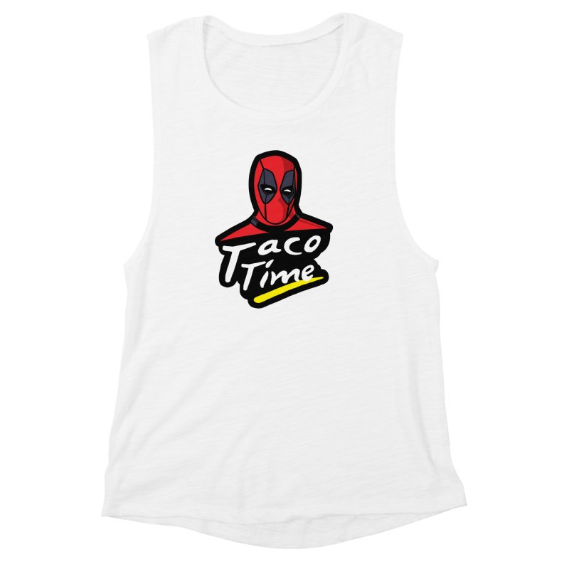 Taco Time Women's Muscle Tank by Daletheskater