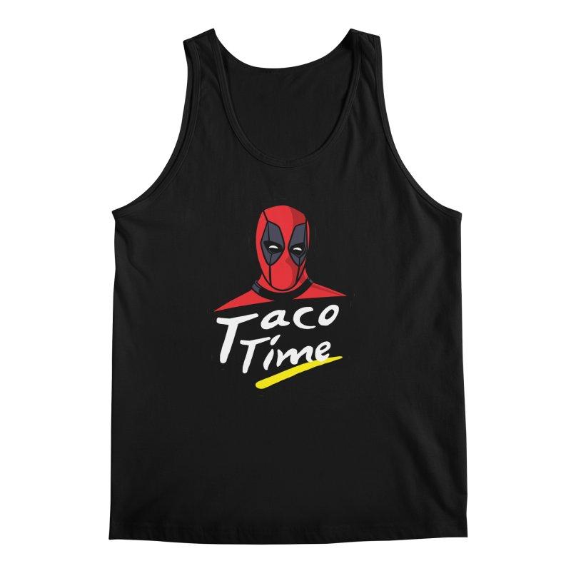 Taco Time Men's Regular Tank by Daletheskater