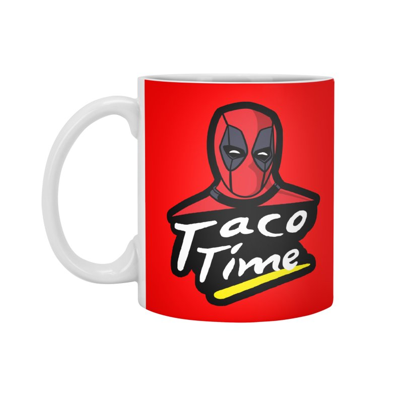 Taco Time Accessories Mug by Daletheskater