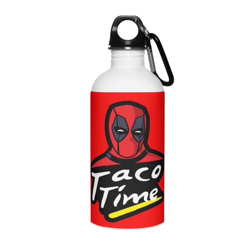 Taco Time Accessories Water Bottle by Daletheskater