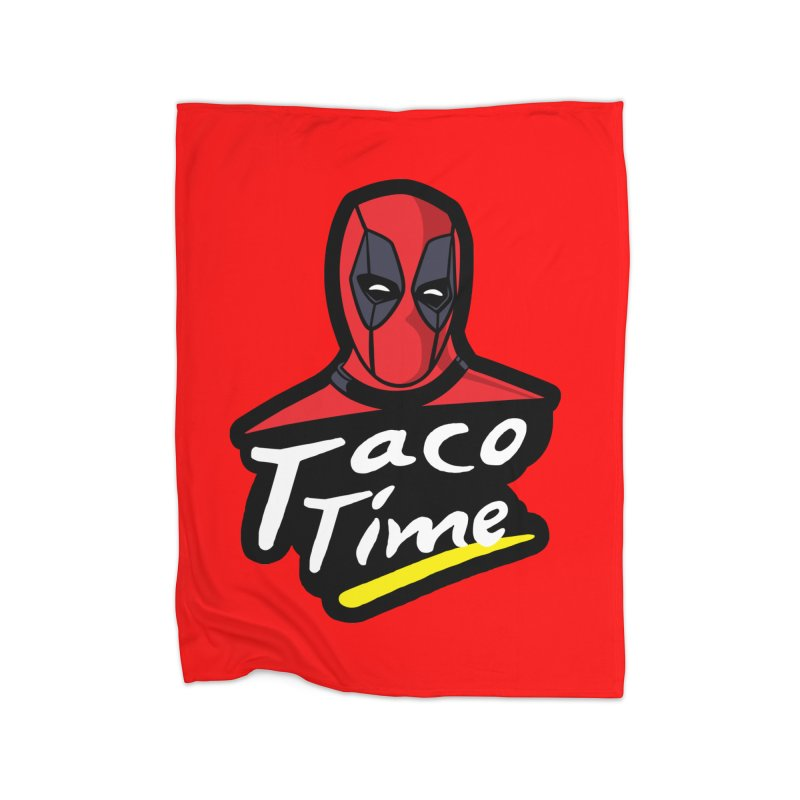 Taco Time Home Blanket by Daletheskater