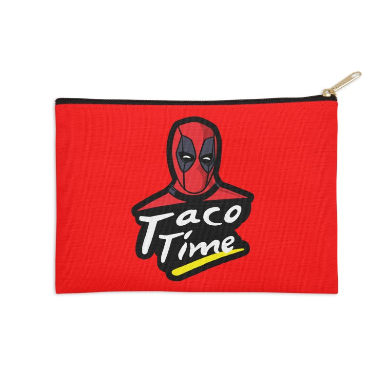 Taco Time Accessories Zip Pouch by Daletheskater