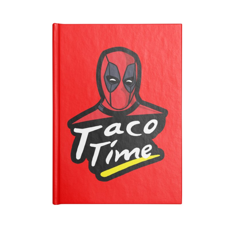 Taco Time Accessories Notebook by Daletheskater