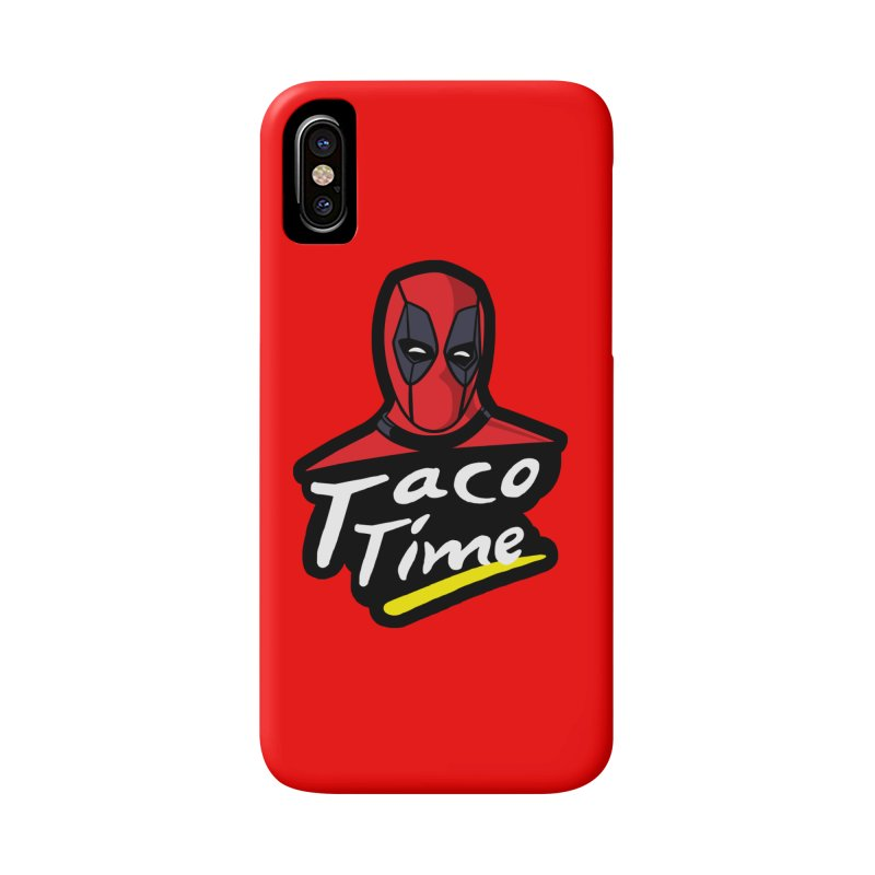 Taco Time Accessories Phone Case by Daletheskater
