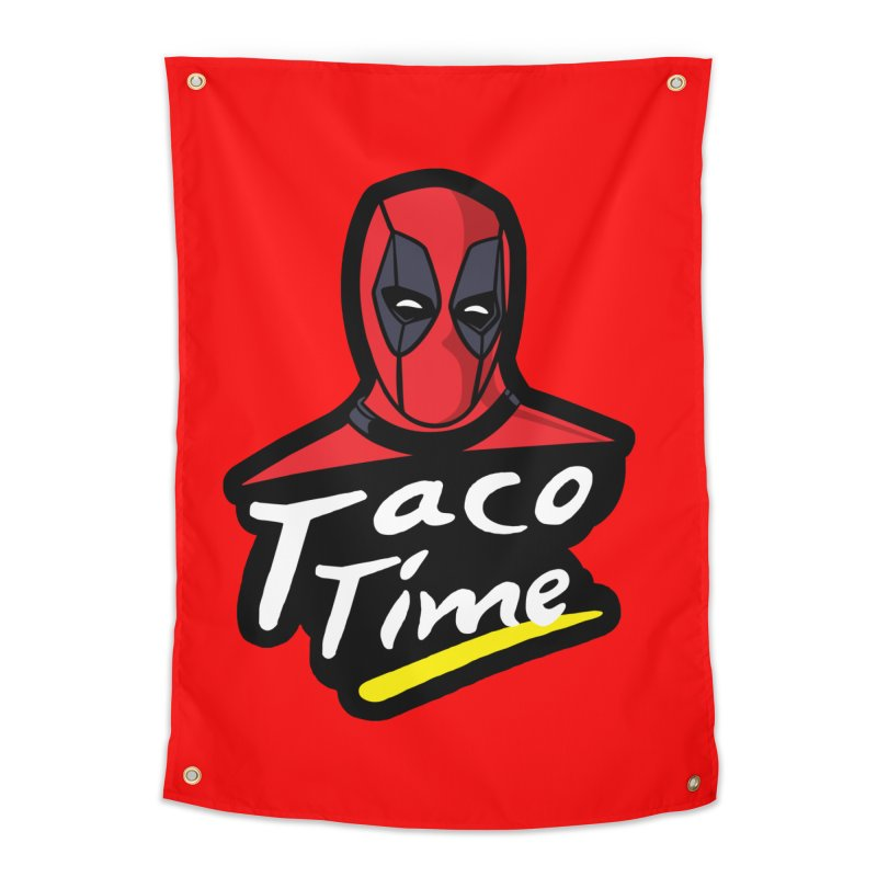 Taco Time Home Tapestry by Daletheskater
