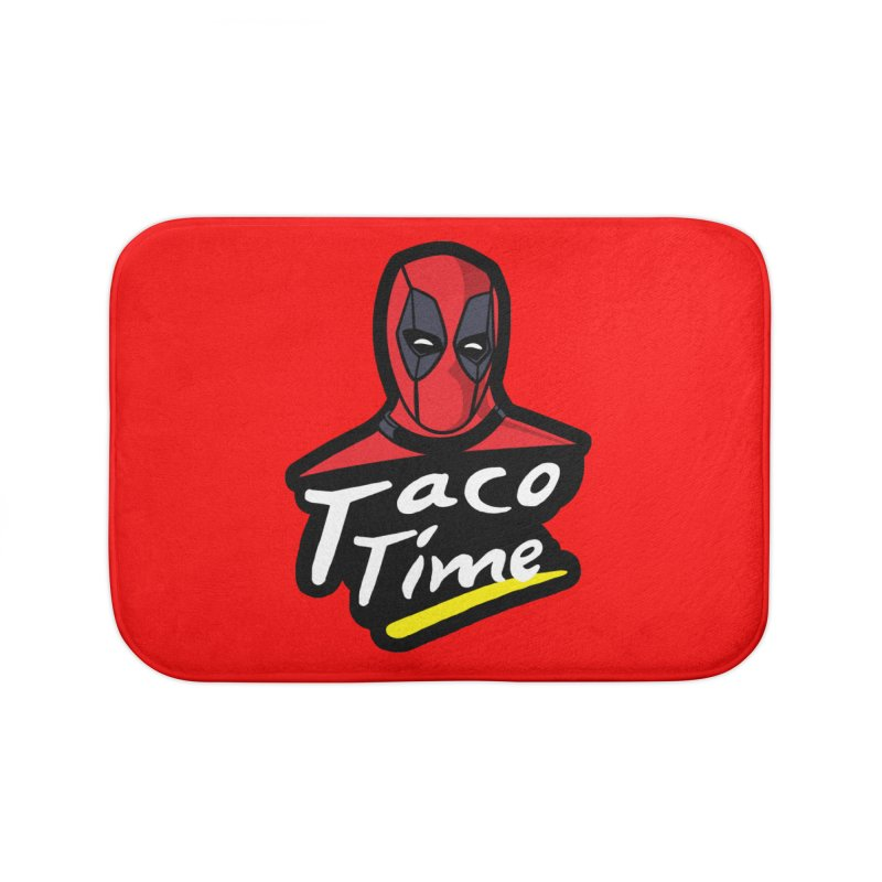 Taco Time Home Bath Mat by Daletheskater