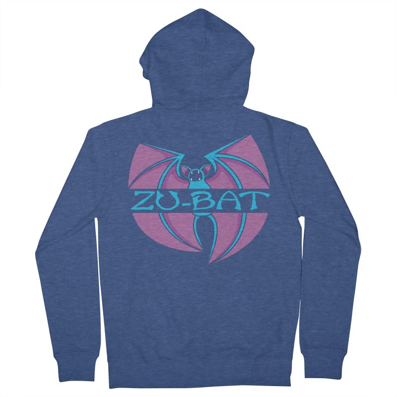 Zu-Bat Women's French Terry Zip-Up Hoody by Daletheskater