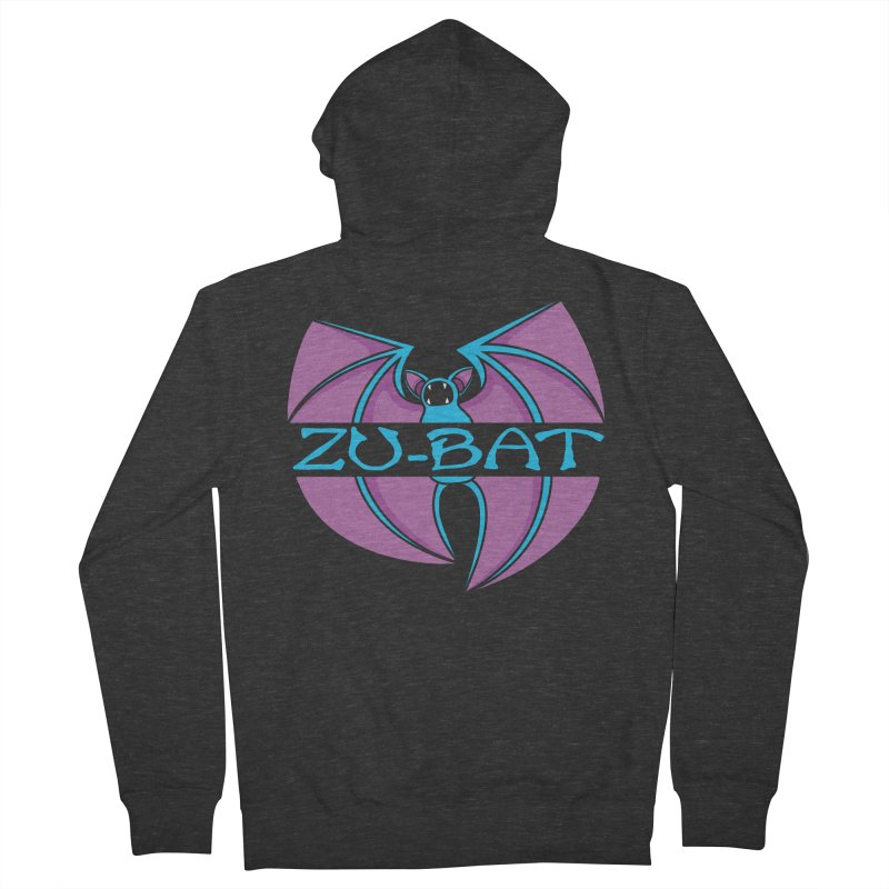 Zu-Bat Men's French Terry Zip-Up Hoody by Daletheskater