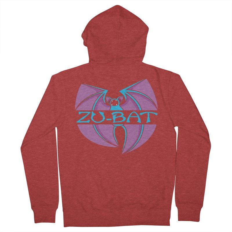 Zu-Bat Men's French Terry Zip-Up Hoody by Daletheskater