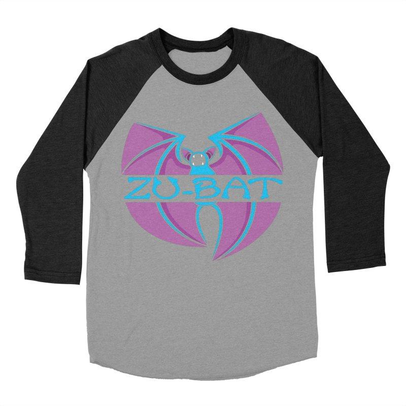 Zu-Bat Women's Baseball Triblend T-Shirt by Daletheskater