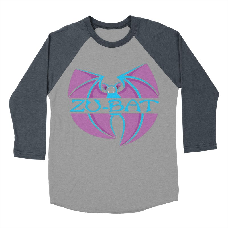 Zu-Bat Women's Baseball Triblend Longsleeve T-Shirt by Daletheskater