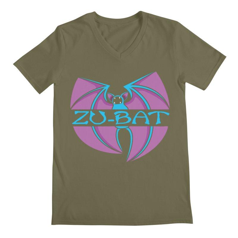 Zu-Bat Men's V-Neck by Daletheskater
