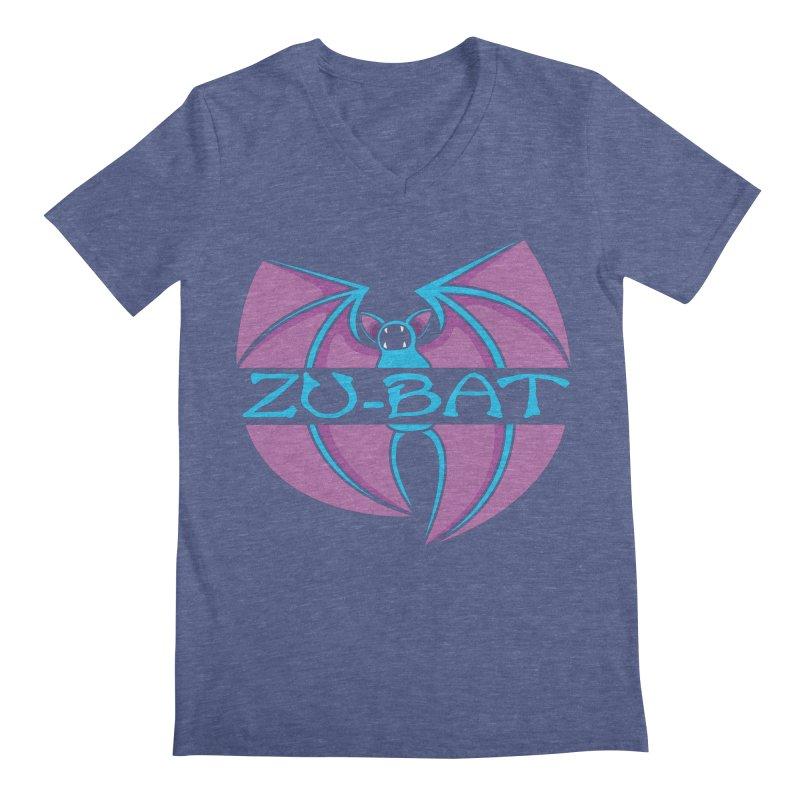 Zu-Bat Men's Regular V-Neck by Daletheskater