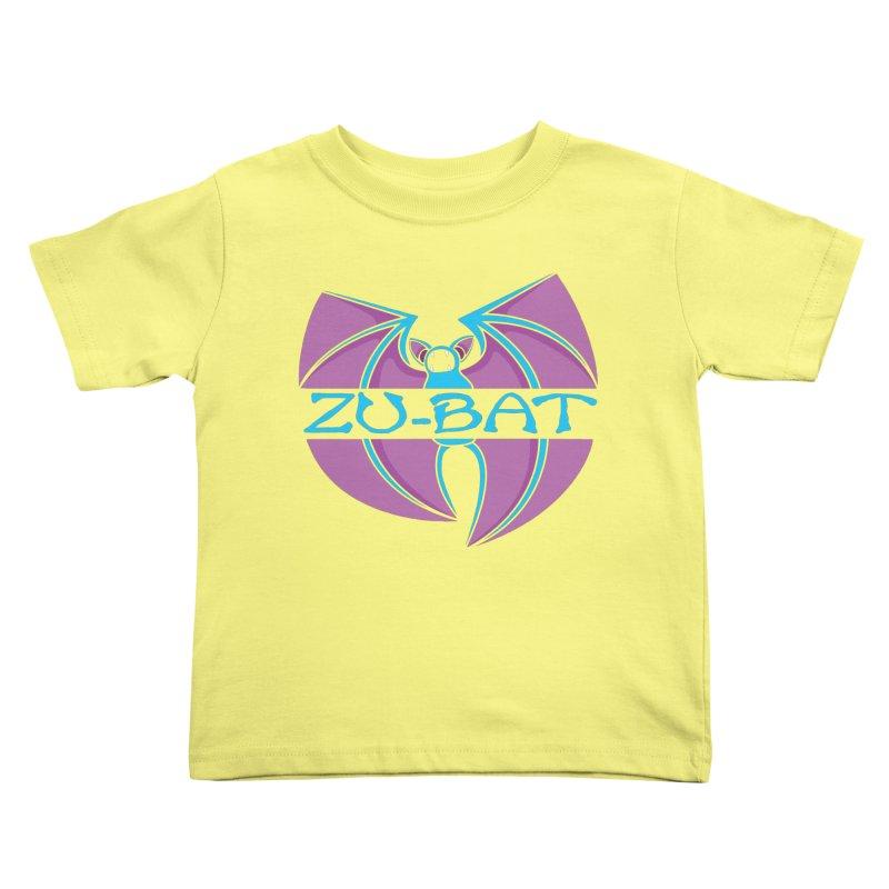 Zu-Bat Kids Toddler T-Shirt by Daletheskater
