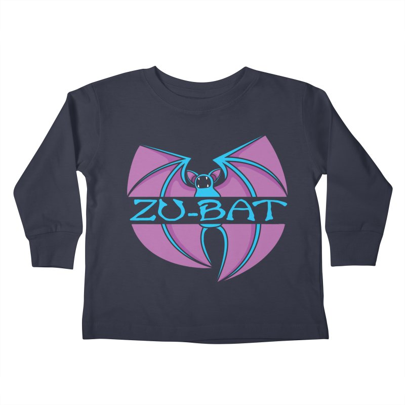 Zu-Bat Kids Toddler Longsleeve T-Shirt by Daletheskater