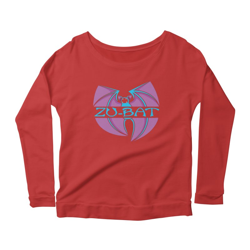 Zu-Bat Women's Scoop Neck Longsleeve T-Shirt by Daletheskater