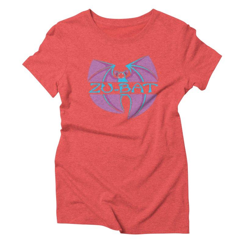 Zu-Bat Women's Triblend T-Shirt by Daletheskater