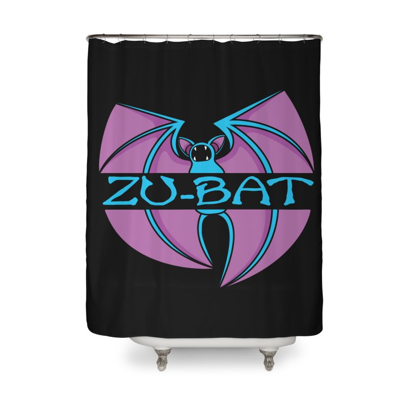Zu-Bat Home Shower Curtain by Daletheskater