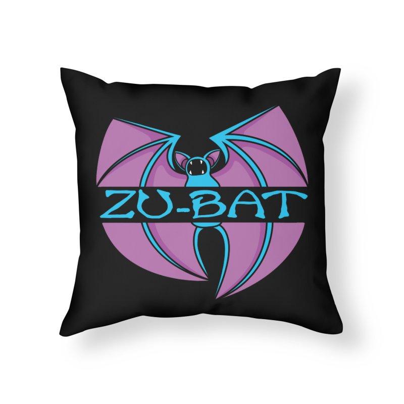 Zu-Bat Home Throw Pillow by Daletheskater