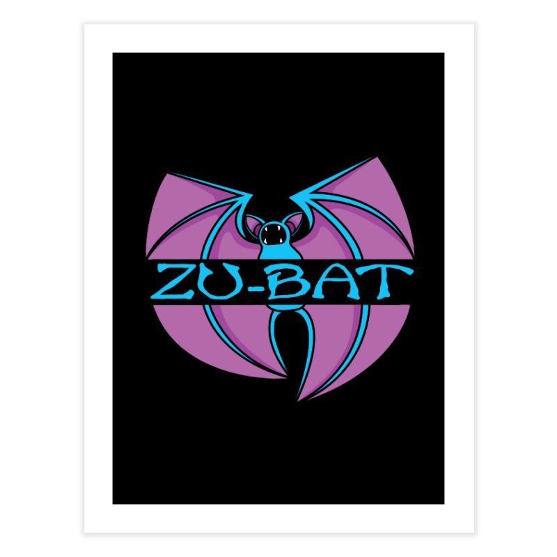 Zu-Bat Home Fine Art Print by Daletheskater
