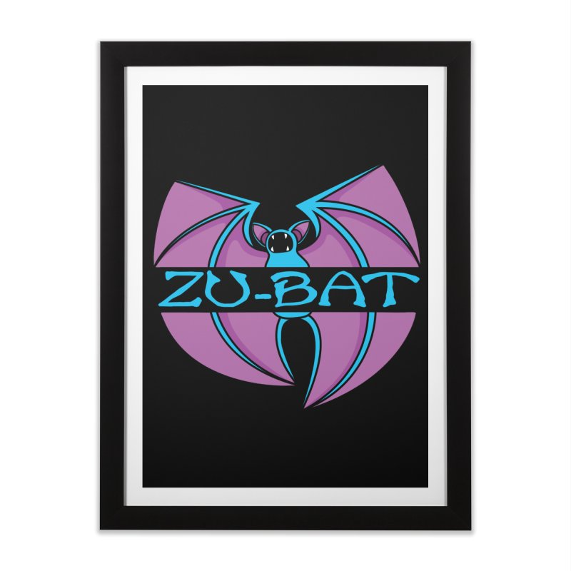 Zu-Bat Home Framed Fine Art Print by Daletheskater