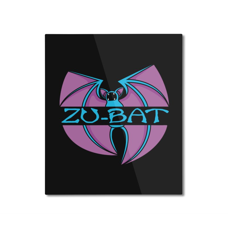 Zu-Bat Home Mounted Aluminum Print by Daletheskater