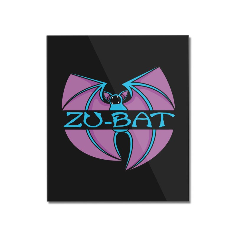 Zu-Bat Home Mounted Acrylic Print by Daletheskater