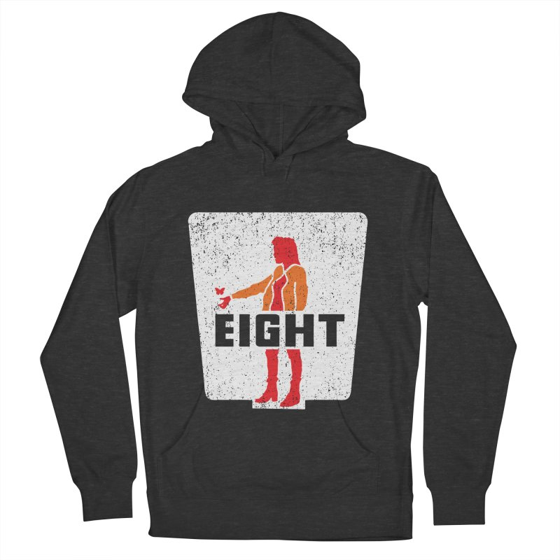 Eight Women's French Terry Pullover Hoody by Daletheskater