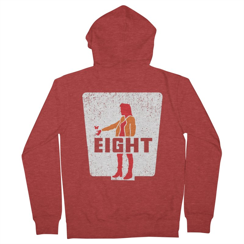 Eight Women's French Terry Zip-Up Hoody by Daletheskater